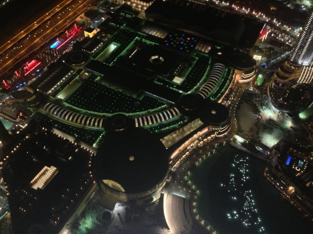 Dubai Mall, down there.