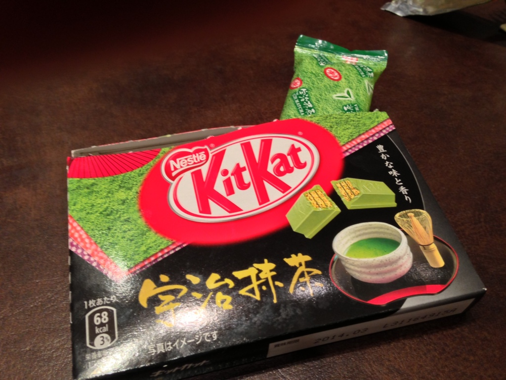 Smells like tea, tastes like chocolate!