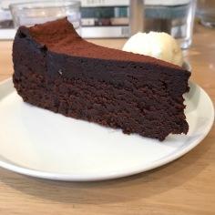 Beautiful piece of Chocolate Cake