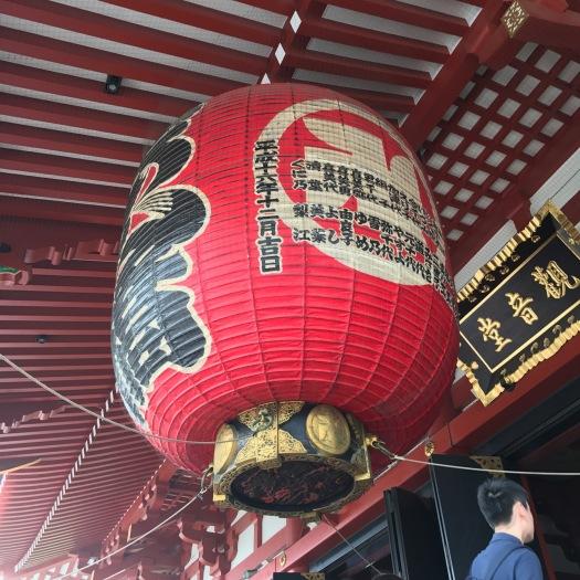 Very big lantern.